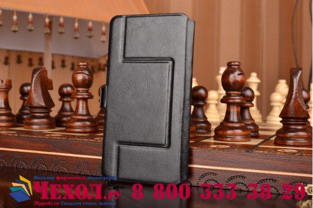 """Чехол-футляр для ASUS ZenFone 3 ZE520KL 5.2""""c окошком для входящих вызовов и свайпом из импортной кожи. Цвет в ассортименте"""