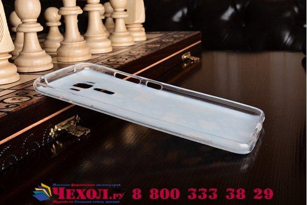 """Фирменная силиконовая задняя панель-чехол-накладка с безумно красивым расписным рисунком Оленя в цветах для ASUS ZenFone 3 Laser ZC551KL 5.5"""""""