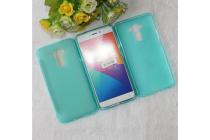 """Фирменная ультра-тонкая силиконовая задняя панель-чехол-накладка для ASUS ZenFone 3 Laser ZC551KL 5.5"""" голубая"""