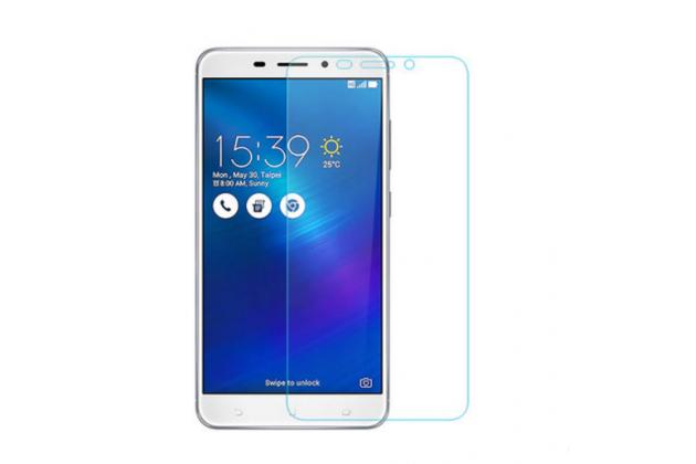 """Фирменное защитное закалённое противоударное стекло премиум-класса из качественного японского материала с олеофобным покрытием для телефона ASUS ZenFone 3 Laser ZC551KL 5.5"""""""