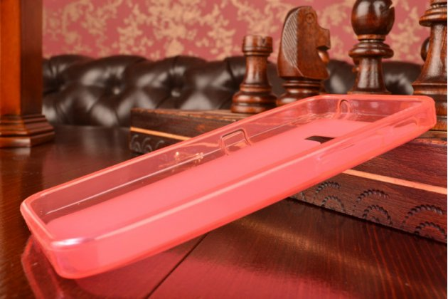 Фирменная ультра-тонкая полимерная из мягкого качественного силикона задняя панель-чехол-накладка для Asus Zenfone 4 4.0 A400CG розовая