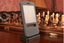 """Фирменный чехол-книжка для Asus Zenfone 2 5.0"""" ZE500CL черный с окошком для входящих вызовов и свайпом водоотталкивающий"""