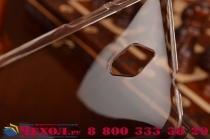 Фирменная задняя панель-крышка-накладка из тончайшего и прочного пластика для ASUS ZenFone C ZC451CG Z007 прозрачная
