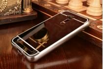 """Фирменная металлическая задняя панель-крышка-накладка из тончайшего облегченного авиационного алюминия для ASUS ZenFone Go ZB452KG 4.5"""" черная"""