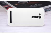 """Фирменная задняя панель-крышка-накладка из тончайшего и прочного пластика для ASUS ZenFone Go ZB452KG 4.5"""" белая"""