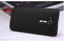 """Фирменная задняя панель-крышка-накладка из тончайшего и прочного пластика для ASUS ZenFone Go ZB452KG 4.5"""" черная"""