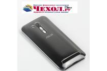 """Фирменная задняя панель-крышка-накладка из тончайшего и прочного пластика для ASUS ZenFone Go ZB452KG 4.5"""" прозрачная"""