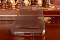 Фирменная ультра-тонкая полимерная из мягкого качественного силикона задняя панель-чехол-накладка для Asus Zenfone C ZC451CG черный
