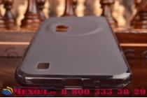 Фирменная ультра-тонкая полимерная из мягкого качественного силикона задняя панель-чехол-накладка для  ASUS ZenFone Zoom ZX551ML / ZX550ML черная