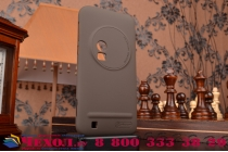 Фирменная задняя панель-крышка-накладка из тончайшего и прочного пластика для  ASUS ZenFone Zoom ZX551ML / ZX550ML  коричневая