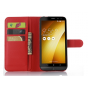Фирменный чехол-книжка из импортной кожи с мульти-подставкой застёжкой и визитницей для ASUS ZenFone Zoom ZX55..