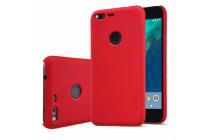 Фирменная задняя панель-крышка-накладка из тончайшего и прочного пластика для Google Pixel/HTC Google Nexus 2016/ HTC Nexus S1 черная