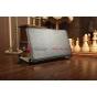 Фирменный чехол для Asus MeMO Pad HD 7 ME173X model K00B с мульти-подставкой и держателем для руки черный кожа..