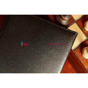 Чехол для Asus MeMO Pad HD 7 ME173X поворотный черный кожаный