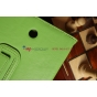 Чехол для Asus MeMO Pad HD 7 ME173X зеленый натуральная кожа