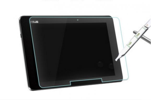 """Фирменное защитное закалённое противоударное стекло премиум-класса из качественного японского материала с олеофобным покрытием для планшета ASUS Transformer Book T100HA / Z8500 10.1"""""""