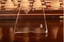 """Фирменная задняя панель-крышка-накладка из тончайшего и прочного пластика для ASUS ZenFone 3 Deluxe ZS570KL 5.7"""" прозрачная"""