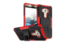 """Противоударный усиленный ударопрочный фирменный чехол-бампер-пенал для ASUS ZenFone 3 Deluxe ZS570KL 5.7"""" красный"""