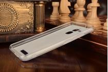 """Фирменная необычная из мягкого и тонкого силикона задняя панель-чехол-накладка для ASUS ZenFone 3 Max ZC520TL 5.2 """"тематика Волк"""""""