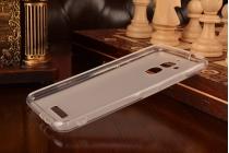 Фирменная ультра-тонкая полимерная из мягкого качественного силикона задняя панель-чехол-накладка для ASUS ZenFone 3 Max ZC520TL 5.2 белая