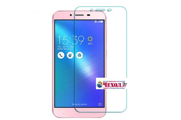 """Фирменная оригинальная защитная пленка для телефона ASUS ZenFone 3 Max ZC553KL 5.5"""" глянцевая"""