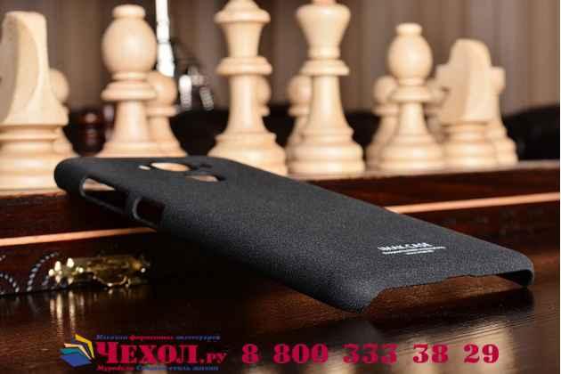 """Фирменная задняя панель-крышка-накладка из тончайшего и прочного пластика для ASUS ZenFone 3 Max ZC553KL 5.5"""" черная"""