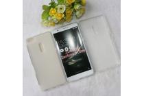 """Фирменная ультра-тонкая силиконовая задняя панель-чехол-накладка для ASUS ZenFone 3 Ultra ZU680KL 6.8"""" белая"""