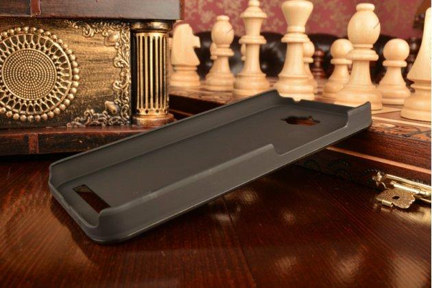 Фирменная металлическая задняя панель-крышка-накладка из тончайшего облегченного авиационного алюминия для Asus Zenfone Max ZC550KL/ 2 MAX 5.5 черная