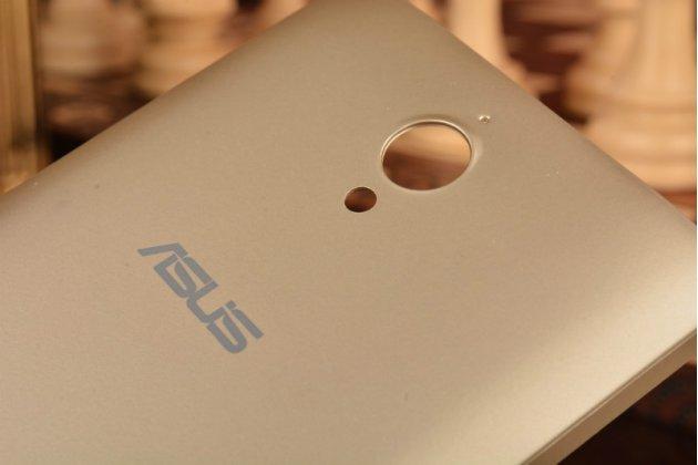Родная оригинальная задняя крышка-панель которая шла в комплекте для ASUS ZenFone C ZC451CG Z007 золотая