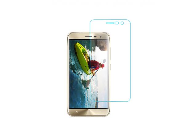 """Фирменная оригинальная защитная пленка для телефона  ASUS Zenfone 3 ZE552KL 5.5""""  глянцевая"""