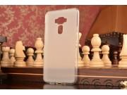 Фирменная ультра-тонкая силиконовая задняя панель-чехол-накладка для ASUS Zenfone 3 ZE552KL 5.5