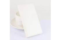 """Фирменный чехол-книжка из качественной импортной кожи с подставкой застёжкой и визитницей для Асус Зенфон 3 ЗЕ552КЛ 5.5"""" белый"""