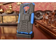 Противоударный усиленный ударопрочный фирменный чехол-бампер-пенал для ASUS Zenfone 3 ZE552KL 5.5