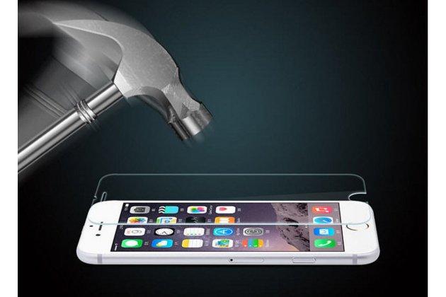 Фирменное защитное закалённое противоударное стекло премиум-класса из качественного японского материала с олеофобным покрытием для телефона ASUS ZenFone Live ZB501KL