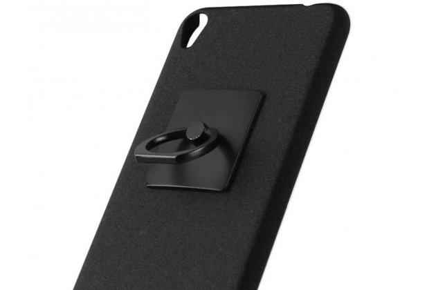 Фирменная задняя панель-крышка-накладка из тончайшего и прочного пластика для ASUS ZenFone Live ZB501KL черная