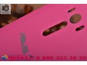 Родная оригинальная задняя крышка-панель которая шла в комплекте для ASUS ZenFone Selfie ZD551KL 5.5 розовая..