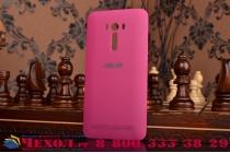 Родная оригинальная задняя крышка-панель которая шла в комплекте для ASUS ZenFone Selfie ZD551KL 5.5 розовая