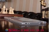 Фирменная ультра-тонкая полимерная из мягкого качественного силикона задняя панель-чехол-накладка для ASUS ZenPad 10 Z300CG/Z300CL/Z300C/ZD300CL/Z300M белая