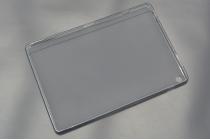 Фирменная ультра-тонкая полимерная из мягкого качественного силикона задняя панель-чехол-накладка для ASUS ZenPad 10 Z300CG/Z300CL/Z300C/ZD300CL/Z300M черная