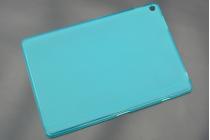 Фирменная ультра-тонкая полимерная из мягкого качественного силикона задняя панель-чехол-накладка для ASUS ZenPad 10 Z300CG/Z300CL/Z300C/ZD300CL/Z300M голубая