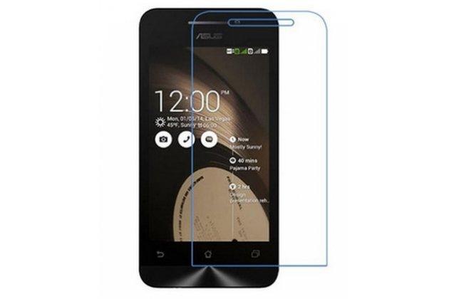 """Фирменная оригинальная защитная пленка для телефона ASUS Zenfone 4 A450CG 4.5"""" глянцевая"""
