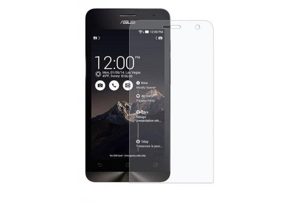 Фирменная оригинальная защитная пленка для телефона Asus Zenfone 6 матовая