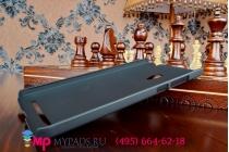 Фирменная задняя панель-крышка-накладка из тончайшего и прочного пластика для ASUS Zenfone 6 A600CG/A601CG черная