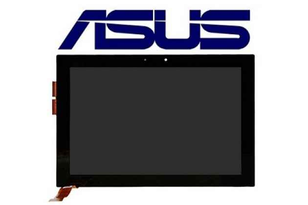 Фирменный LCD-ЖК-сенсорный дисплей-экран-стекло с тачскрином на планшет Asus EEE Pad Transformer TF101/TF101G черный и инструменты для вскрытия + гарантия