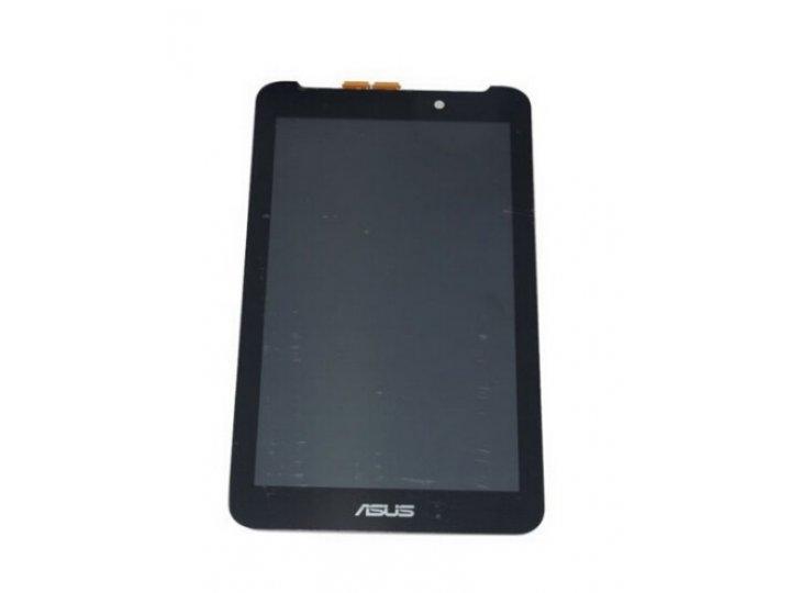 Фирменный LCD-ЖК-сенсорный дисплей-экран-стекло с тачскрином на планшет Asus Fonepad 7 FE170CG черный и инстру..