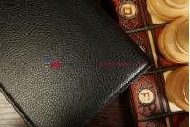 Фирменный чехол для Asus FonePad ME371MG поворотный роторный оборотный черный кожаный