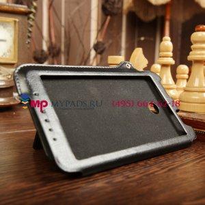 Фирменный чехол-обложка для Asus Fonepad Note FHD 6 ME560CG model K00G черный кожаный