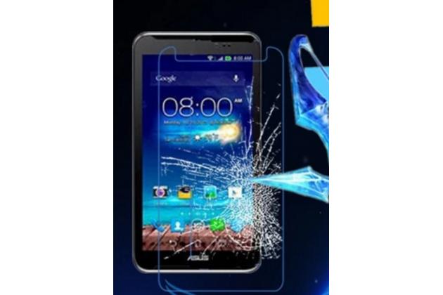 """Фирменное защитное закалённое противоударное стекло премиум-класса из качественного японского материала с олеофобным покрытием для Asus Fonepad Note FHD 6 ME560CG (K00G)"""""""