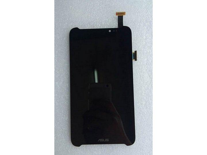 Фирменный LCD-ЖК-сенсорный дисплей-экран-стекло с тачскрином на планшет Asus Fonepad Note FHD 6 ME560CG черный..