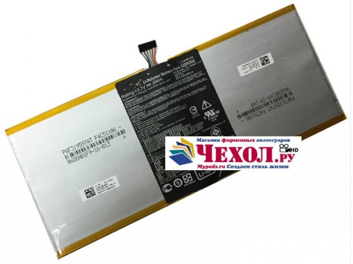 Фирменная аккумуляторная батарея 6520mAh C12P1302 на планшет Asus MeMO Pad FHD 10 ME302KL Model K005+ инструме..